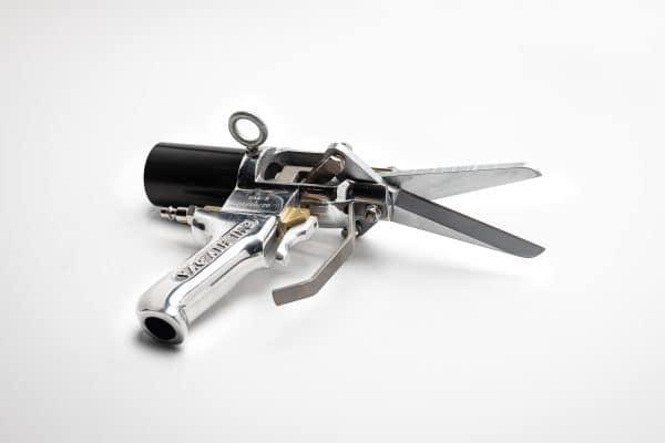 bak-s air scissors, vac air inc, poultry processing equipment